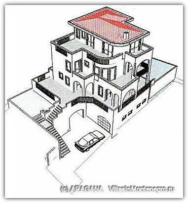Черногория. Добра Вода. Строящийся дом