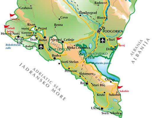 карта черногории скачать бесплатно - фото 7