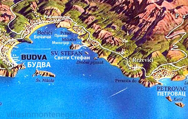 budva-riviera-map